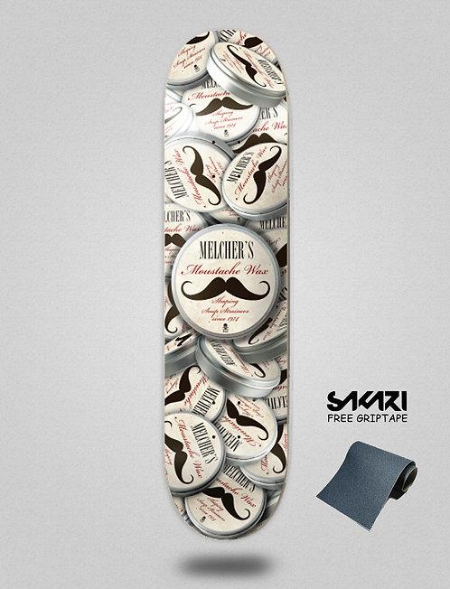 ¨DEATH¨ Patrick Melcher Moustache 8.125