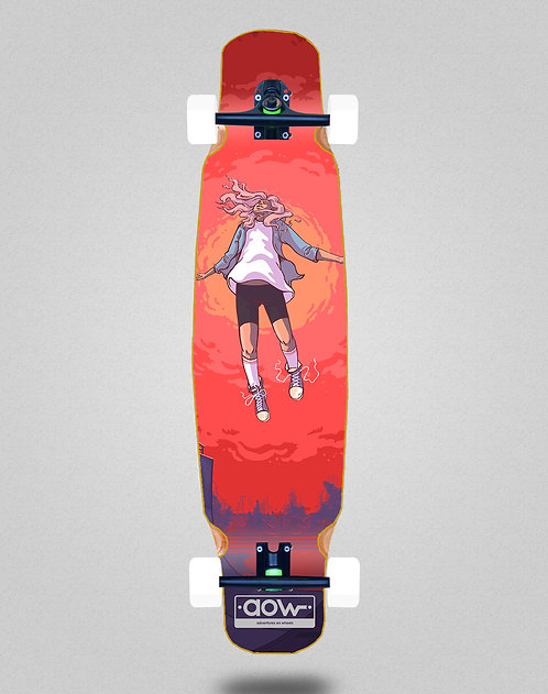 Aow Floating longboard bamboo dance complete 46x9