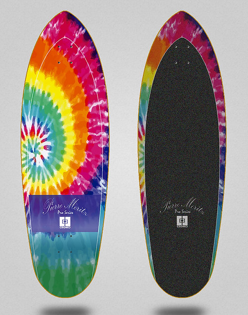 Cromic surfskate deck - Logger Pierre Moritz Tie dye 32.5