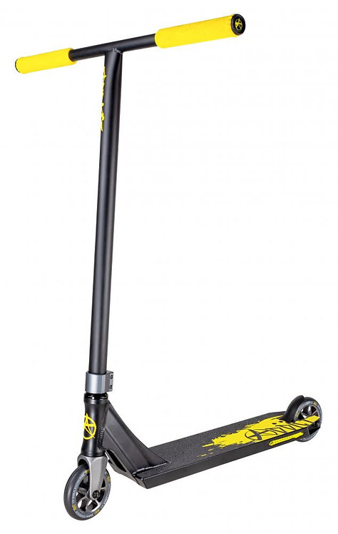 Addict Complete Scooter Defender MKII Black Yellow 540 MM