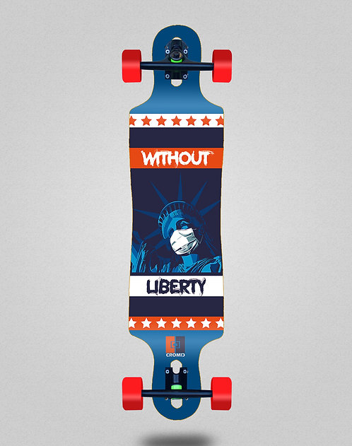 Cromic Covid Without liberty longboard complete 40x9