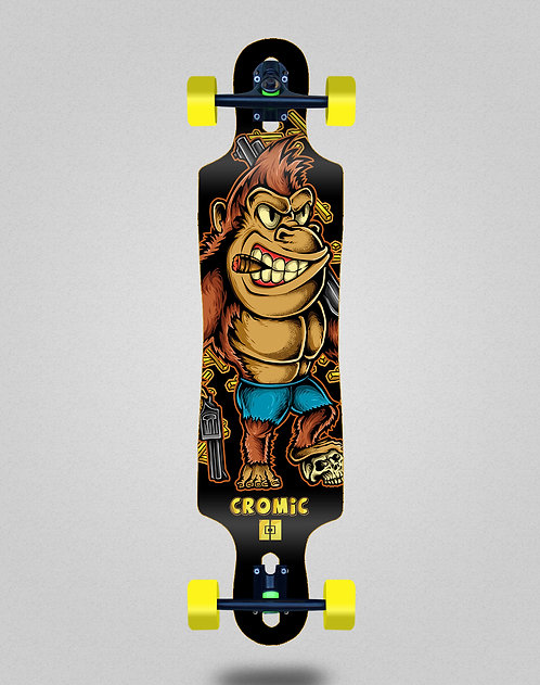 Cromic Donkey crazy food longboard complete 40x9