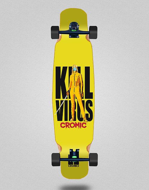 Cromic Covid Kill virus longboard dance complete 46x9