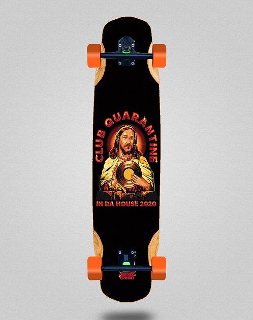 Cromic Covid In da house longboard complete 38x8.45