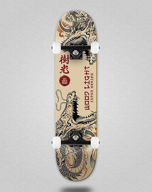Wood light Japan series dragons skate complete