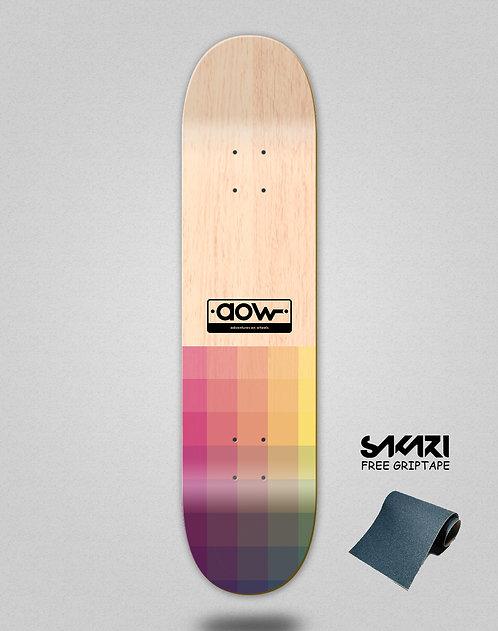 Aow Pixels skate deck