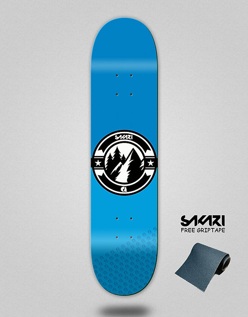 Sakari Downhill juice blue skate deck