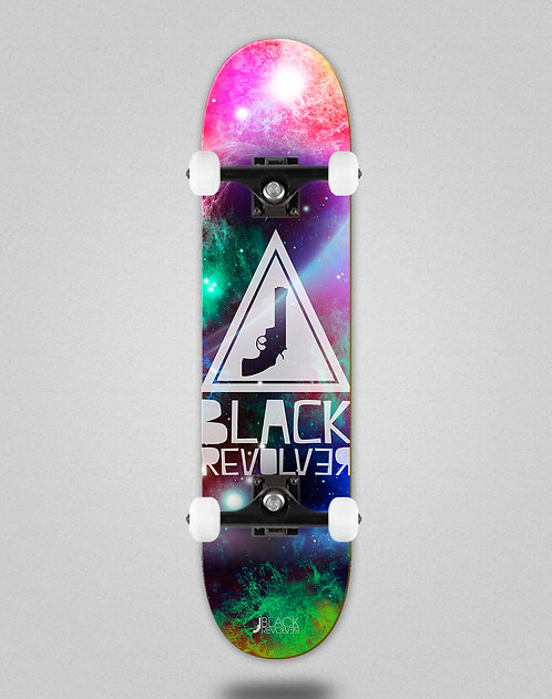 Black Revolver Space Triangle skate complete