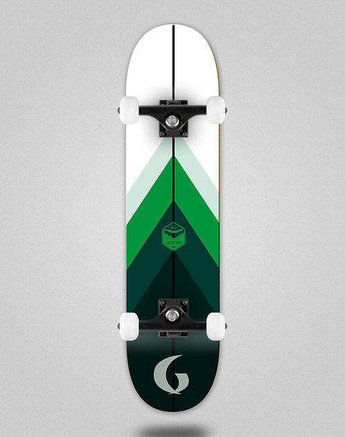 Glutier Green style skate complete