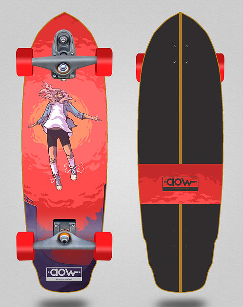 Aow surfskate T12 trucks Floating 32 special