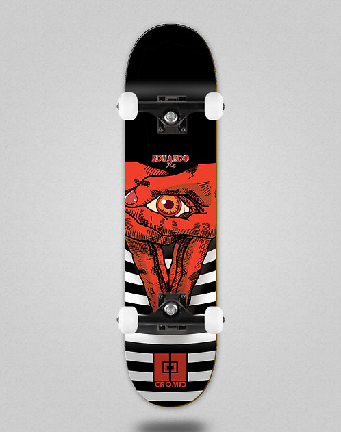 Cromic Eduardo Prieto Vision red skate complete