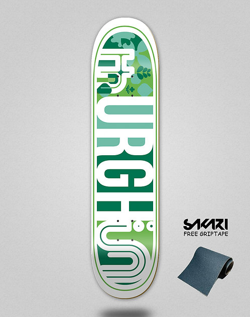 Urgh skate deck Leaf green