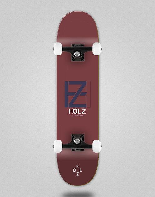 Holz Basic blood navy skate complete