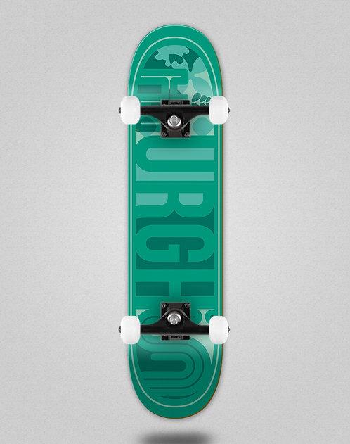 Urgh Leaf turquoise skate complete