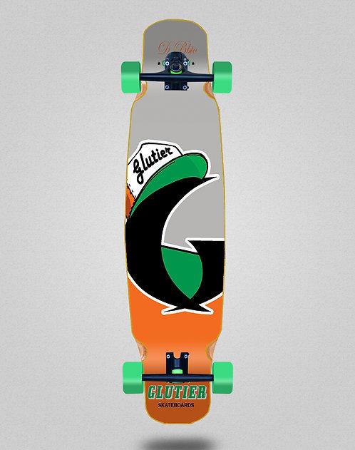 Glutier California orange longboard dance complete 46x9