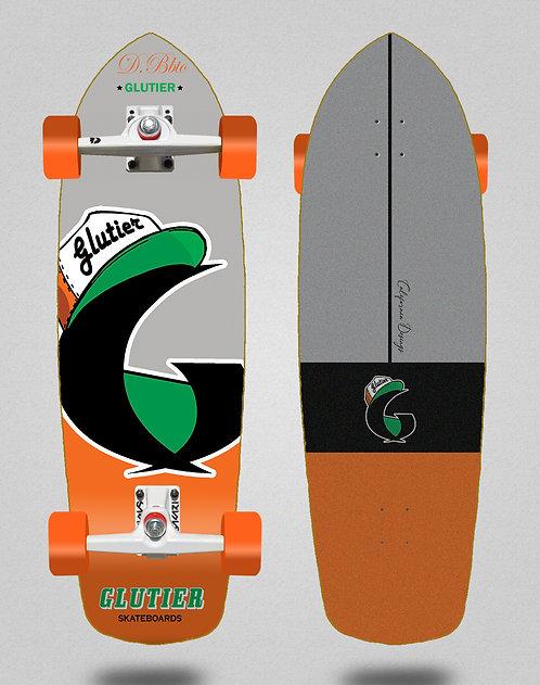 Glutier surfskate - California orange 34 34