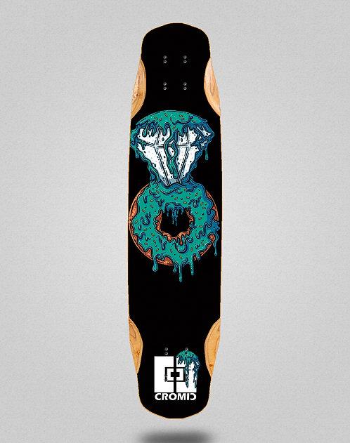 Cromic Donat blue longboard deck 38x8.45