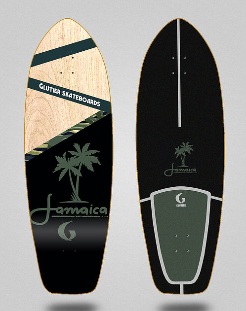 Glutier deck: Jamaica wood 31