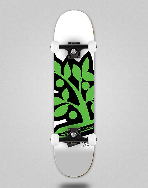 Wood light Logotipia green skate complete