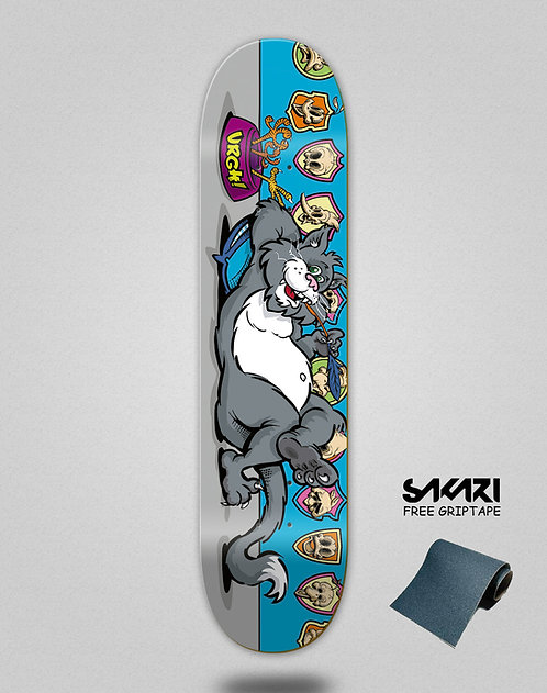 Urgh skate deck Killer blue