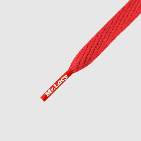 Mr lacy - cordones Smallies red 90cm