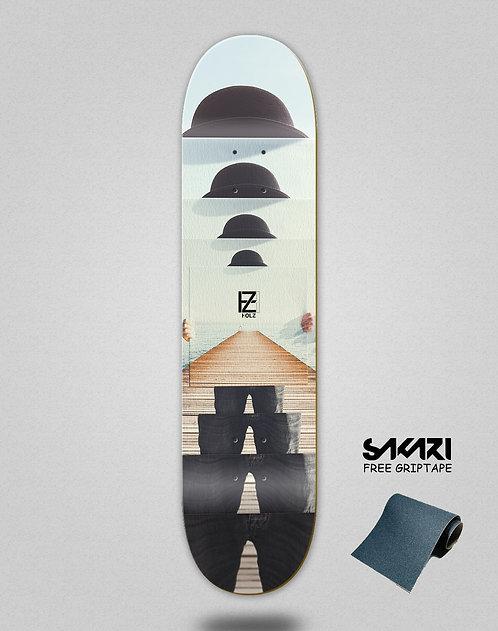 Holz Infinity mirror skate deck
