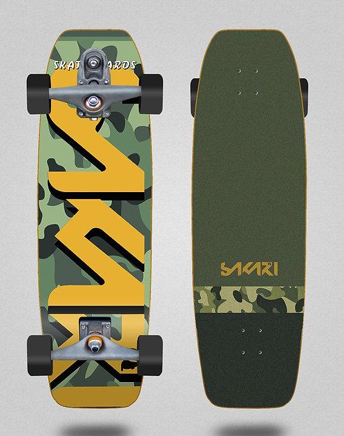 Sakari surfskate T12 - Camo 31.5 fat nose