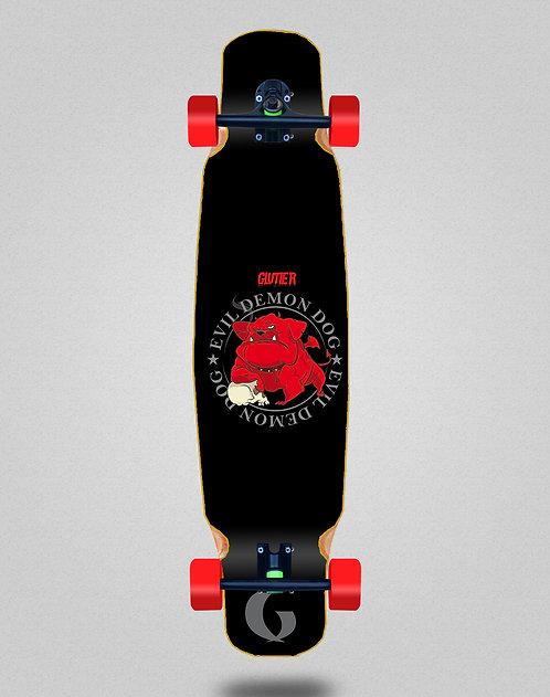 Glutier Demon dog longboard dance complete 46x9
