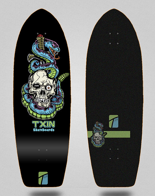 Txin deck - Blue snake 29