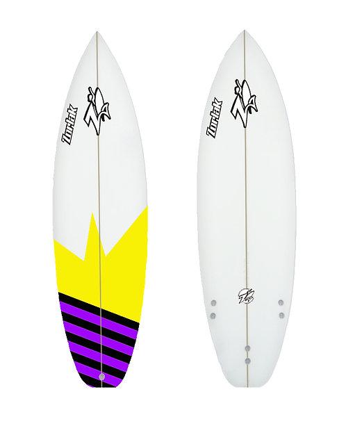 Zorlak surfboard shape 88