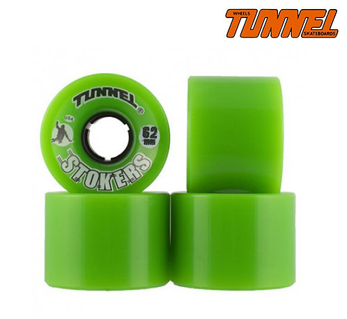 Tunnel (set 4) - 62mm 78a green stokers wheels