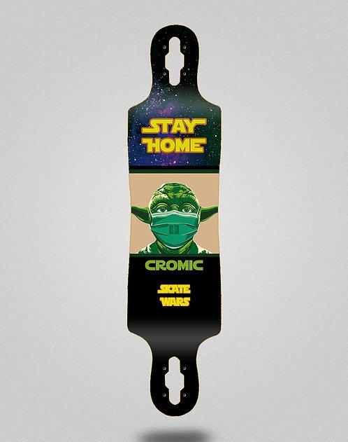 Cromic Covid Skate wars longboard deck 40x9