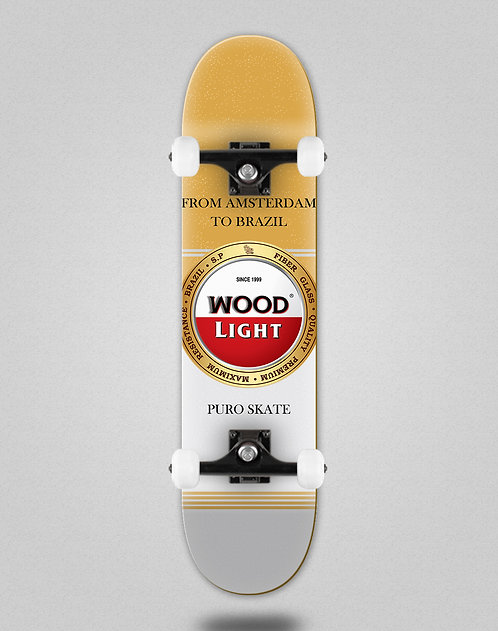 Wood light Cheers golden skate complete
