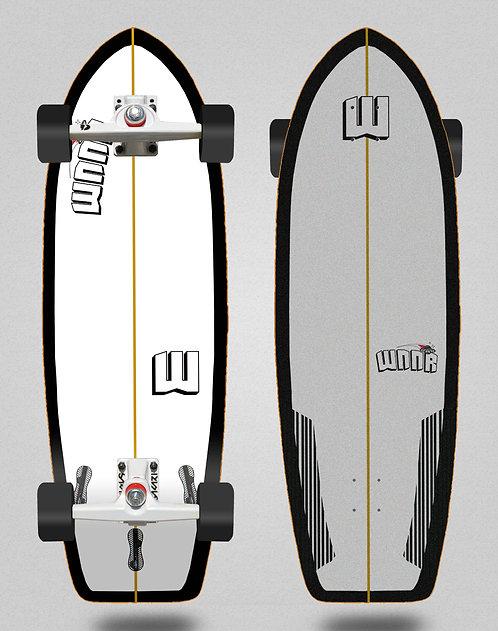 Wnnr surfskate SGI Tulum white black 31