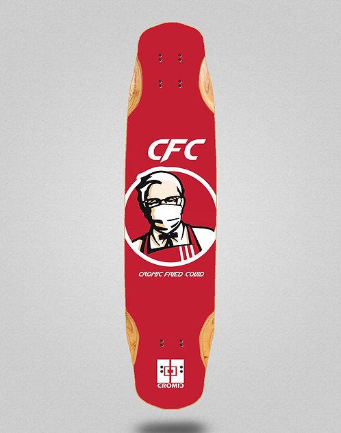 Cromic Covid Fried longboard deck 38x8.45
