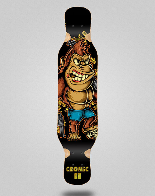 Cromic Donkey crazy food longboard deck 46x10
