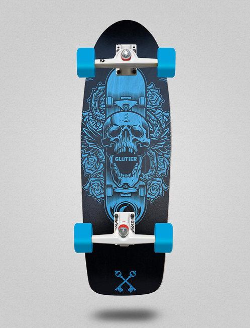 Glutier surfskate - Skate skull 30,5