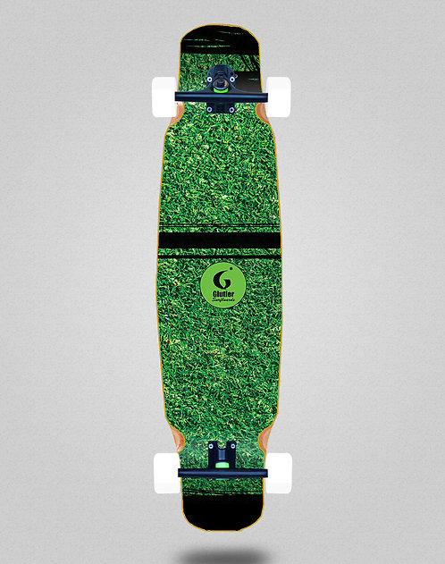 Glutier Grass new longboard dance complete 46x9