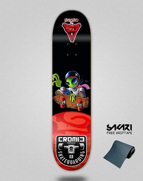 Cromic Eduardo Prieto Space jump skate deck