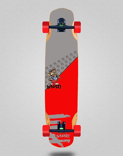 Sakari Castor longboard complete 38x8.45