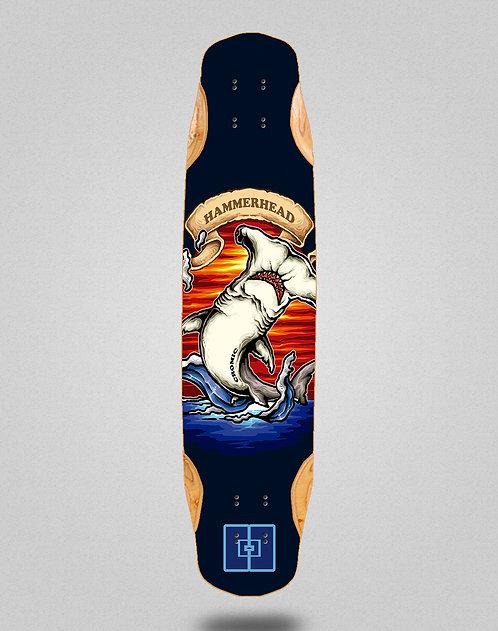 Cromic Hammerhead longboard deck 38x8.45