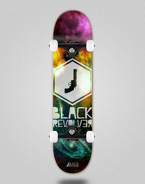 Black Revolver Space Hexa skate complete