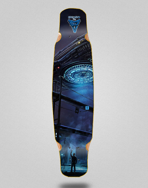 Cromic Eduardo Prieto Invasion longboard deck dance mix bamboo 46x9
