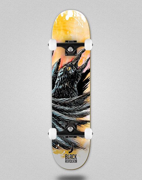 Black Revolver Animalia cuervo skate complete