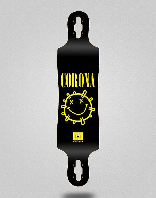 Cromic Covid Corona longboard deck 40x9