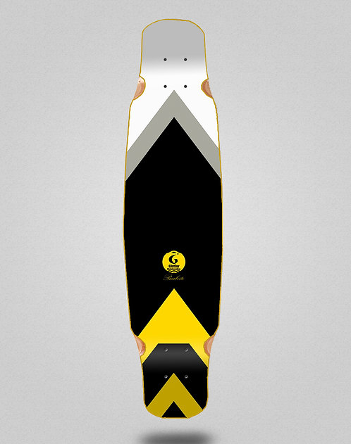 Glutier Barbeito longboard deck dance 46x9