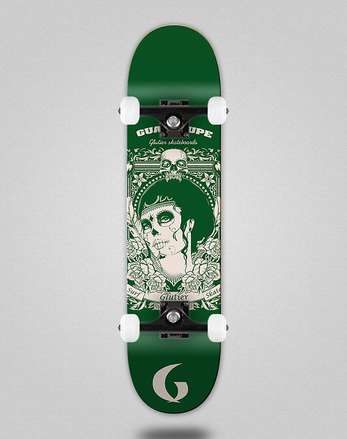 Glutier Guadalupe green skate complete