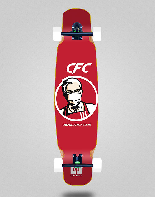 Cromic Covid Fried longboard dance complete 46x9