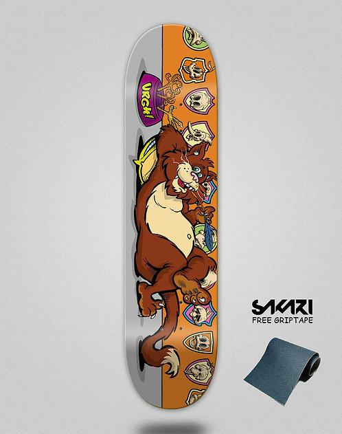 Urgh skate deck Killer orange