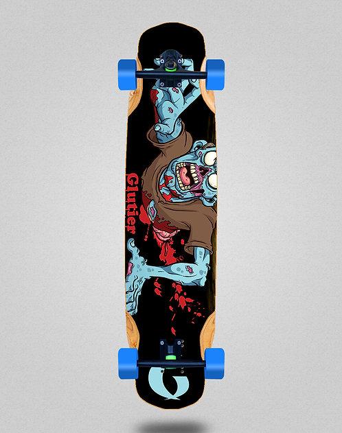 Glutier Final zombie longboard complete 38x8.45